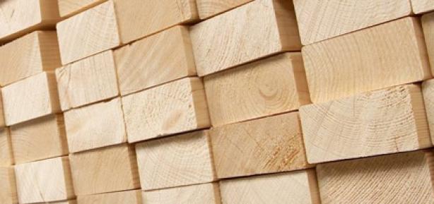 vuren houten balken